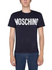 MOSCHINO - T-SHIRT CON STAMPA LOGO
