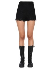 RED VALENTINO - SHORTS IN PIZZO