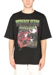 VERSACE JEANS COUTURE - T-SHIRT CON STAMPA WOLF