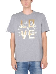 GOLDEN GOOSE DELUXE BRAND - T-SHIRT CON STAMPA LOGO