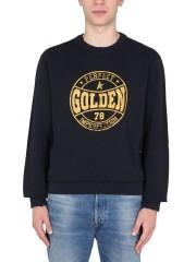 GOLDEN GOOSE DELUXE BRAND - FELPA GIROCOLLO