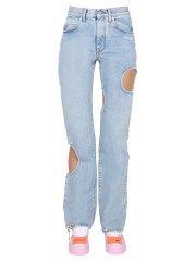 """OFF-WHITE - JEANS """"HOLE BAGGY"""""""