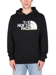 "THE NORTH FACE - FELPA CON STAMPA LOGO ""PIXEL"""