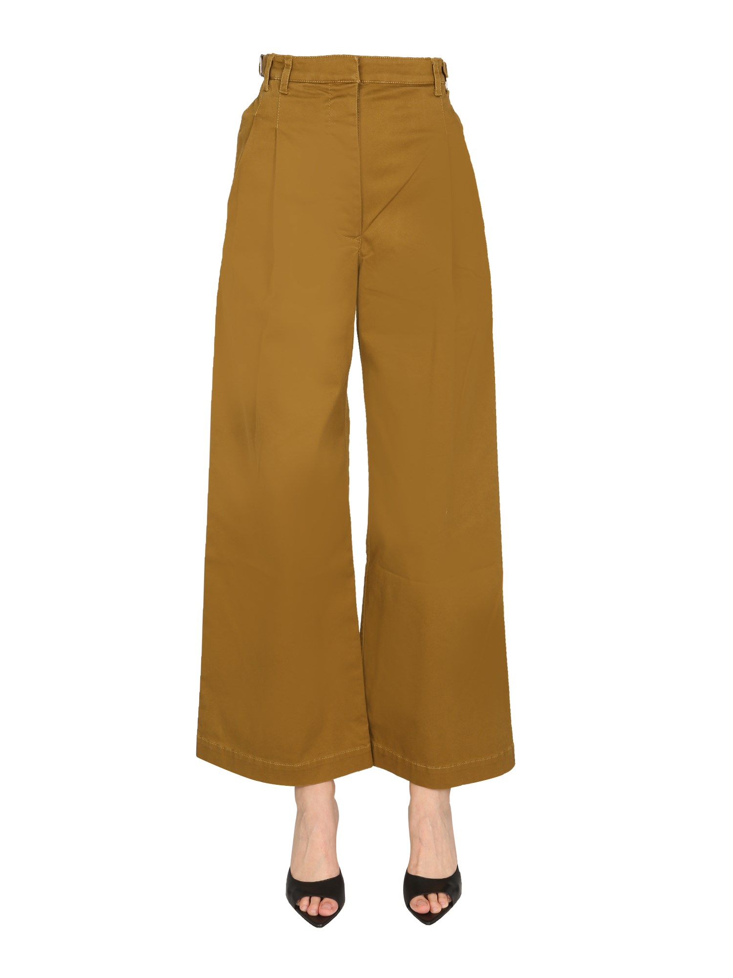 Cotton twill trousers - proenza schouler white label - Modalova