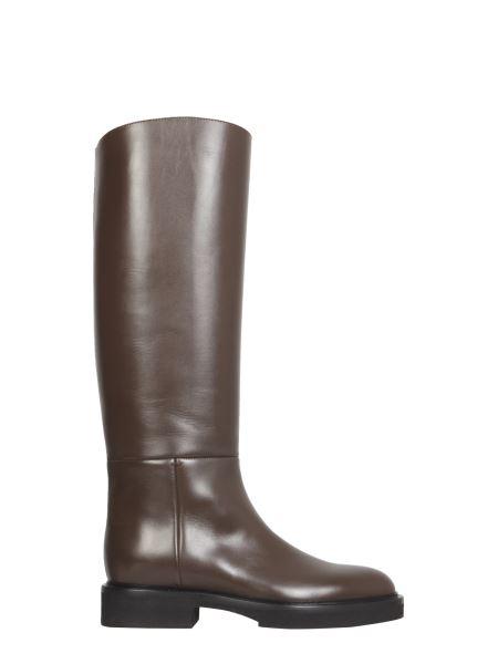 "Khaite - ""derby"" Leather Boots"