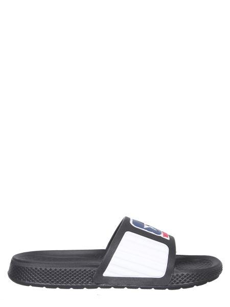 Telfar X Converse - Rubber Slide Sandals With Logo