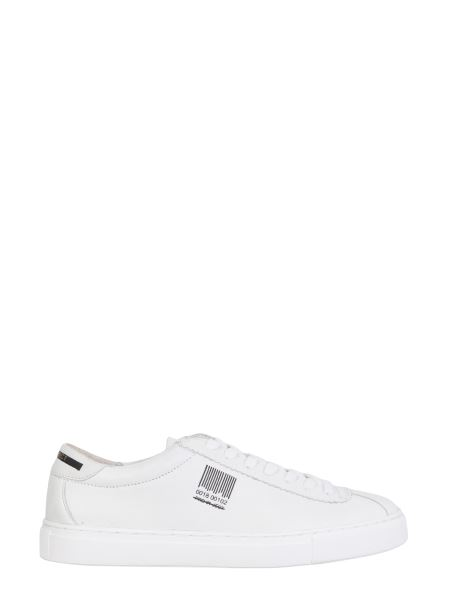 Pro01ject - Leather Sneakers With Logo