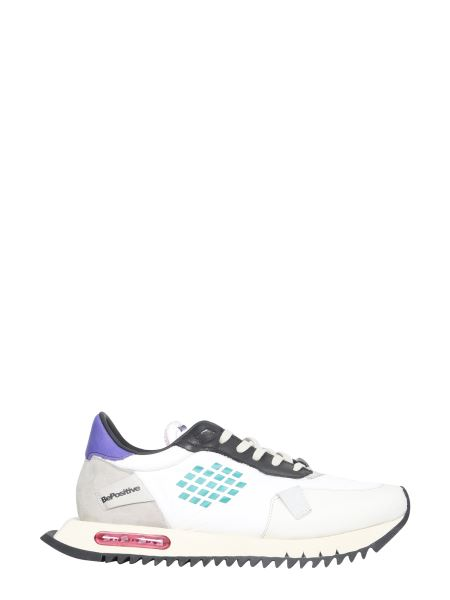 Bepositive - Space Nylon And Suede Run Sneakers
