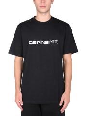 CARHARTT WIP - T-SHIRT CON STAMPA LOGO