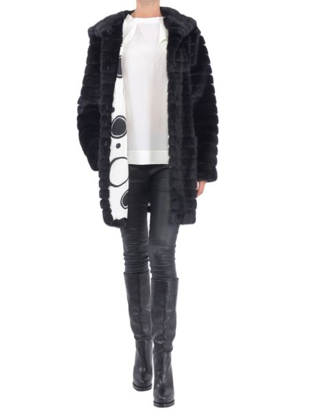Simonetta Ravizza - Hoodied Nelly Mink Fur Coat
