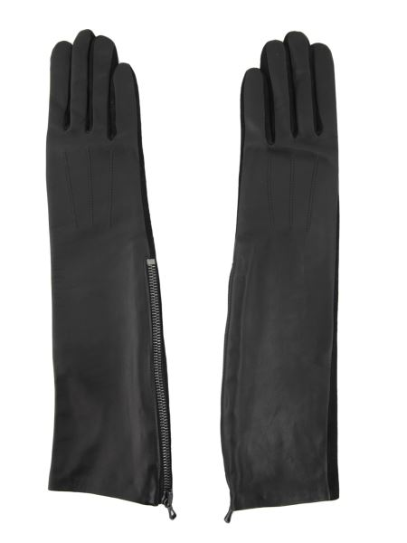 Lanvin - Bi Material Long Gloves