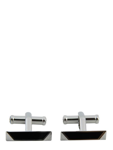 Montblanc - Steel Rectangular Cufflinks
