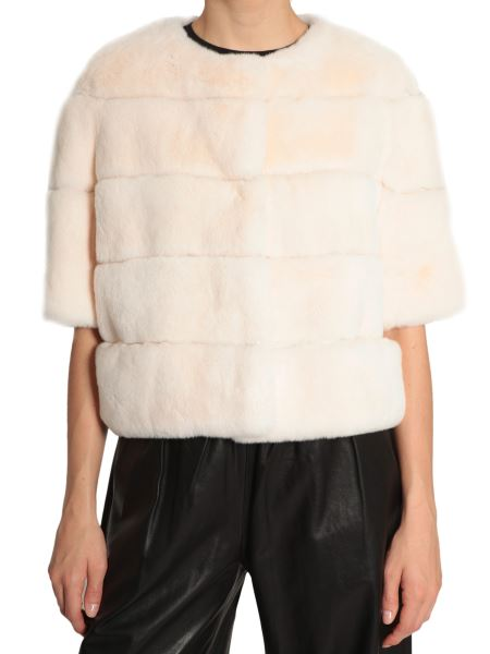 Simonetta Ravizza - Rex Rabbit Fur Mughetto Jacket